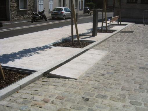 Aménagement de la Place  de la Libération, Orry-la-Ville (60)