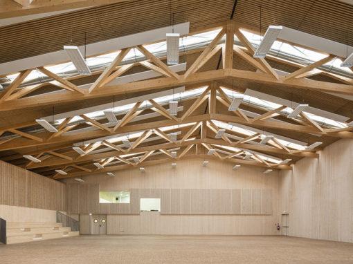 Salle de spectacle et salles de sports, Longueil-Sainte-Marie (60)