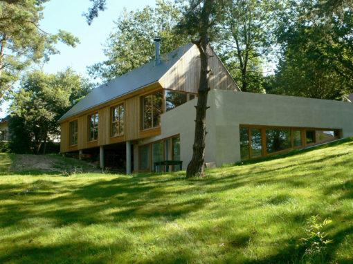 Maison individuelle en bois, Mortefontaine-en-Thelle (60)