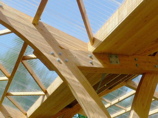 Construction d'un marché couvert, Coye la Forêt (60)