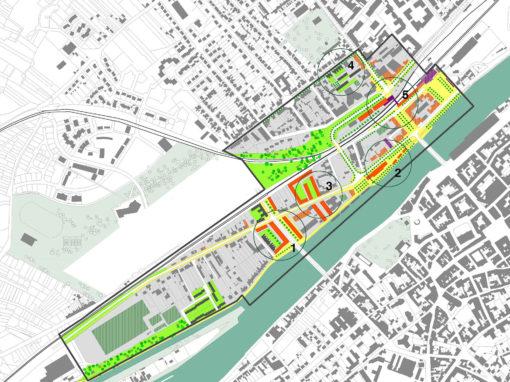 Projet urbain de la rive droite de l'Oise, Compiègne (60)
